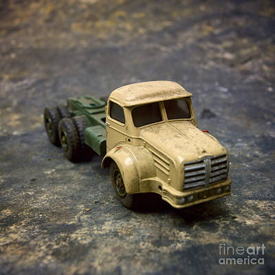 Truck Toy Art Print by Bernard Jaubert