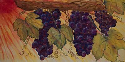 True Vine Art Print by Marianne Gonzales