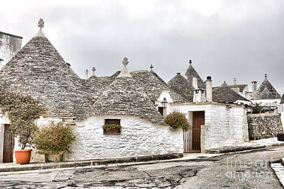 Alberobello Photograph - Trulli by Gabriela Insuratelu