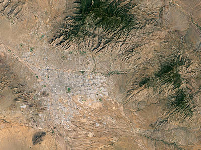 Rincon Mountains Wall Art - Photograph - Tucson by Nasa/science Photo Library