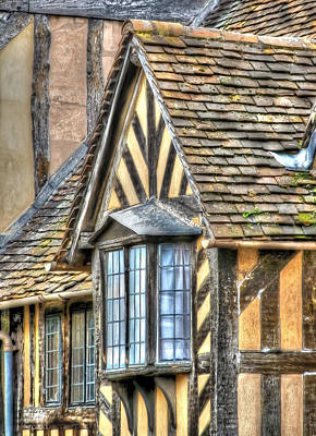 Photograph - Tudor Style Buildings by Susan Leonard