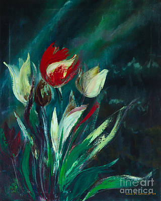 Painting - Tulips by Gina De Gorna