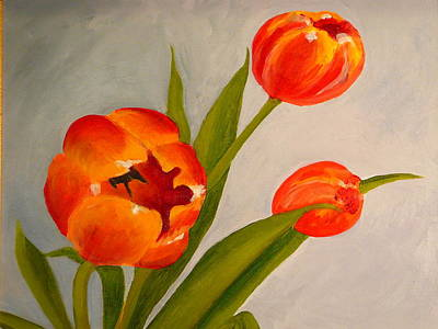 Tulips Print by Valerie Lynch