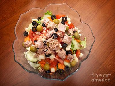 Tuna Salad Art Print by Sinisa Botas
