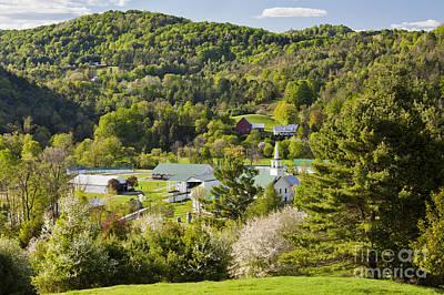 Photograph - Tunbridge Vermont Spring by Alan L Graham