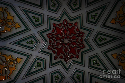 Turkish Tile Design Art Print by Celestial Images