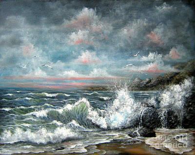 Turning Tide Art Print