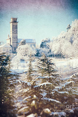 Photograph - Turret In Snow    by Silvia Ganora