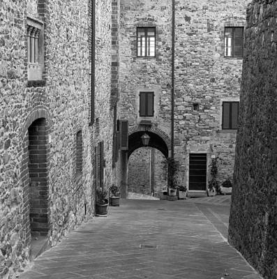 Photograph - Tuscan Hill Town by Carl Amoth