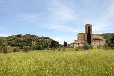 Dells Photograph - Tuscany - Abbazia Di Sant'antimo by Joana Kruse