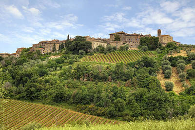 Tuscany - Castelnuovo Dell'abate Art Print