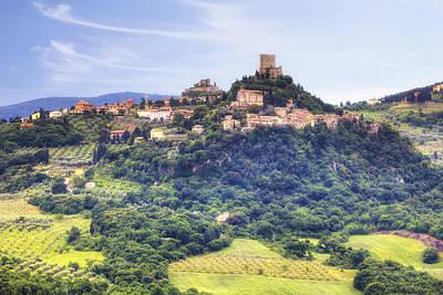 Tuscany - Castiglione D'orcia Print by Joana Kruse