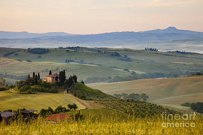Misty Hills Farm Photograph - Tuscany by Brian Jannsen