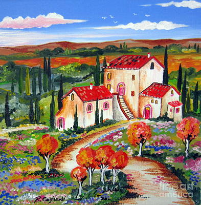 Tuscan Hills Painting - Tuscany For Ever by Roberto Gagliardi
