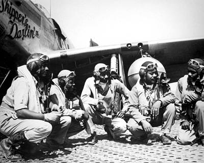 Tuskegee Airmen Art Print by Retro Images Archive