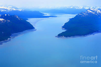 Land Of The Midnight Sun Photograph - Tuxedni Bay And Chisik Island by Thomas R Fletcher
