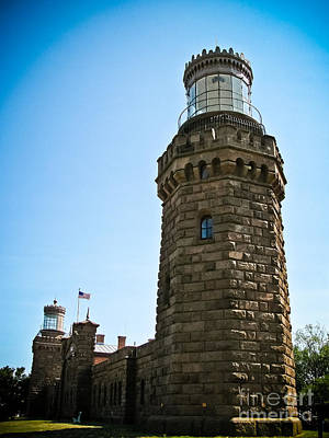 Photograph - Twin Lights - Lighthouse by Colleen Kammerer