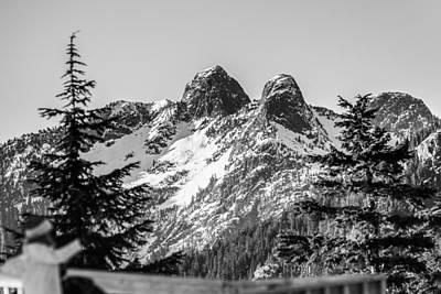 Photograph - Twin Peaks by Ray Shiu
