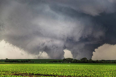 Extreme Weather Photograph - Twin Tornados by Roger Hill