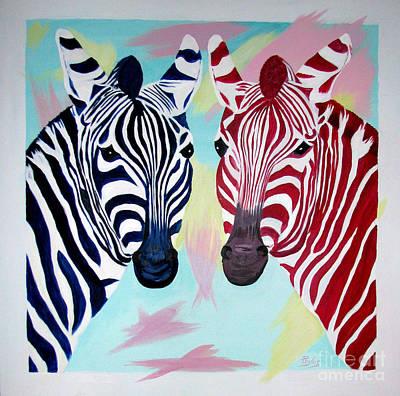 Twin Zs Art Print by Phyllis Kaltenbach