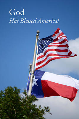 Photograph - God Has Blessed America by Connie Fox