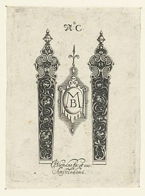 Two Knife Handles, Michiel Le Blon Art Print by Michiel Le Blon