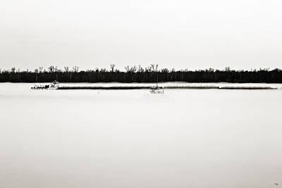 South Louisiana Photograph - Two-way Traffic - Sepia Toned by Scott Pellegrin