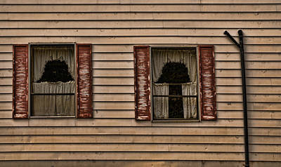 Photograph - Two Windows by Mick Burkey