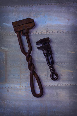 Photograph - Two Wrenches by Garry Gay