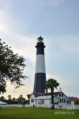 Photograph - Tybee Island Lighthouse by Bob Sample