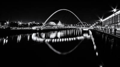 Photograph - Tyne Bridges And The Sage by Wayne Molyneux