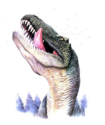 Animals Photograph - Tyrannosaurus Rex by Deagostini/uig