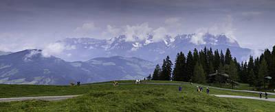 Tyrol Wall Art - Photograph - Tyrolean Panorama by Nigel Jones