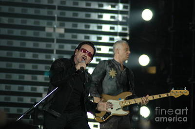 U2 Photograph - U2 by Jenny Potter