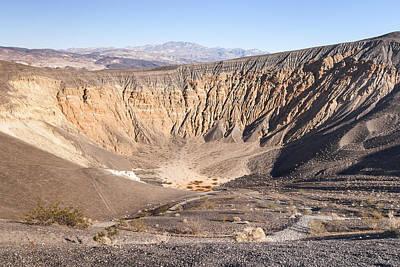 Photograph - Ubehebe Crater by Muhie Kanawati