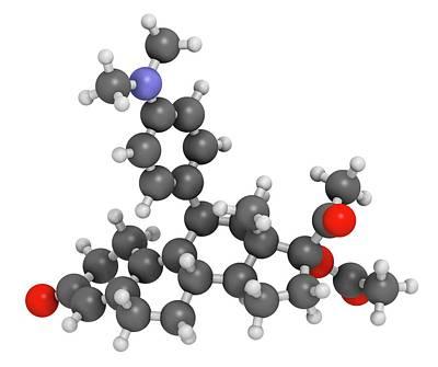 Sexual Intercourse Photograph - Ulipristal Acetate Contraceptive Drug by Molekuul