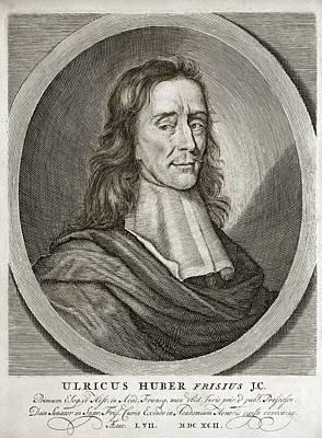 Ulrik Huber, Dutch Jurist Art Print by Middle Temple Library