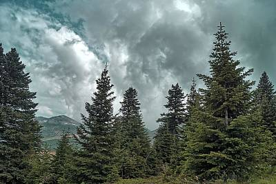 Photograph - Uludag On A Cloudy Day by Munir El Kadi