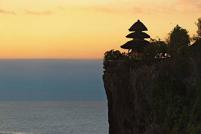 Large Format Photograph - Uluwatu Temple On The Cliff, Bali by Keren Su
