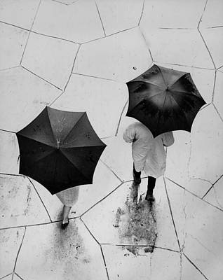 Photograph - Umbrellas  by Ed Meredith