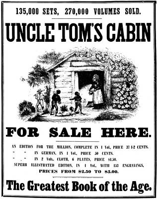 Tom Boy Painting - Uncle Tom's Cabin, C1860 by Granger