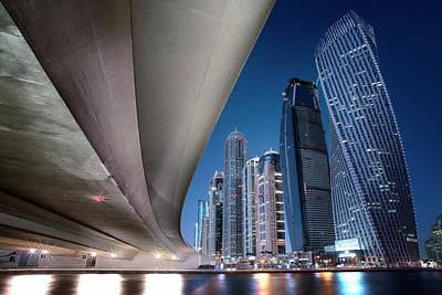 Tower Bridge Photograph - Under The Bridge by Robert Work