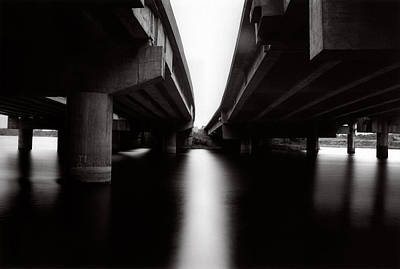 Under The Bridges Art Print