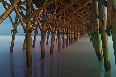 Photograph - Under The Pier by Joye Ardyn Durham