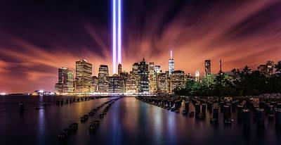 Tourist Attraction Photograph - Unforgettable 9-11 by Javier De La