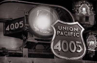 Photograph - Union Pacific Big Boy 4005 by Ken Smith