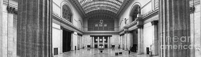 Union Station In Chicago Art Print by Twenty Two North Photography