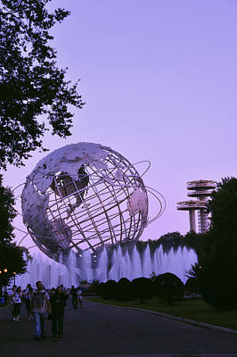 Photograph - Unisphere 3 by Marianne Campolongo
