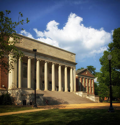University Of Alabama Photograph - University Of Alabama Library by Mountain Dreams