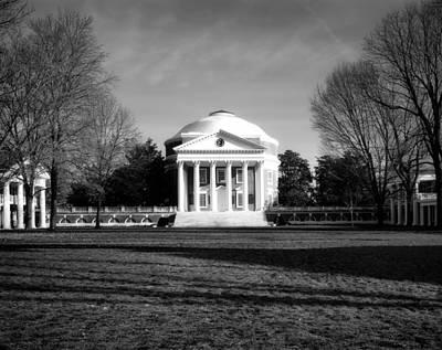 University Of Virginia Photograph - University Of Virginia Rotunda by Mountain Dreams